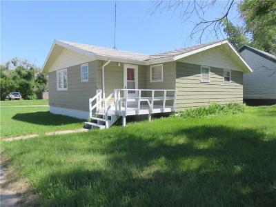 Single Family Home For Sale: 1001 G Avenue, Circle, Montana