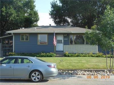 Billings Single Family Home Contingency: 4112 Murphy Avenue