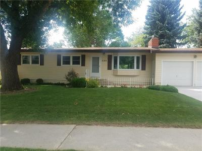 Yellowstone County Single Family Home Contingency: 2120 22nd Street W
