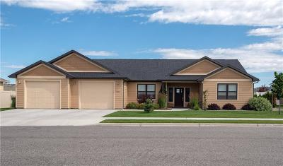 Yellowstone County Single Family Home For Sale: 5921 Foxtail Lane