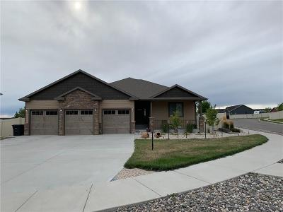 Billings Single Family Home For Sale: 3060 Western Bluffs Boulevard