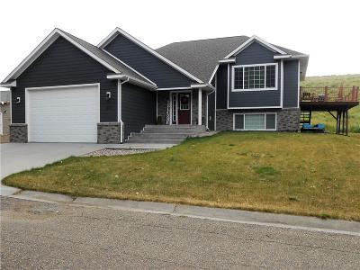 Single Family Home For Sale: 7442 Castle Rock Lake Dr - Colstrip