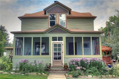 Single Family Home For Sale: 209 W River