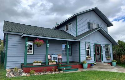 Red Lodge Single Family Home For Sale: 315 Adams Ave S.