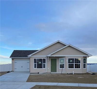 Billings MT Single Family Home For Sale: $221,900