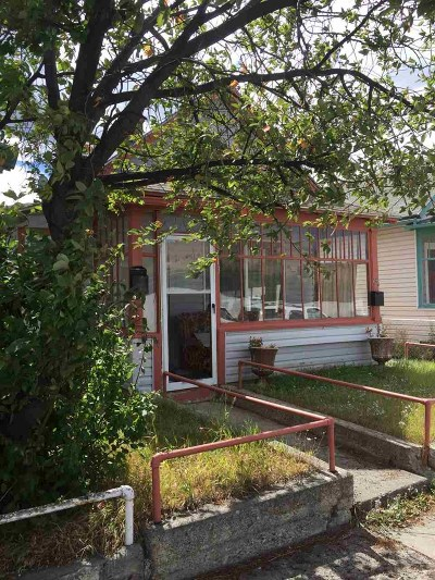 Anaconda Single Family Home For Sale: 613 & 613 1/2 W Commercial