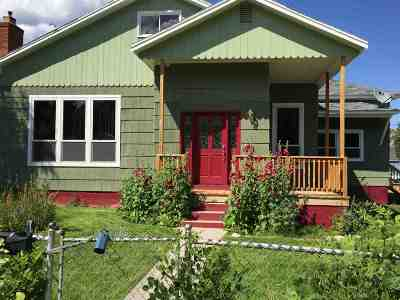 Anaconda Single Family Home Under Contract-Take Bkups: 1104 W 4th