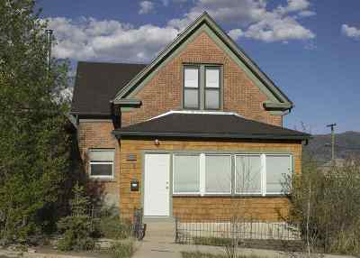Single Family Home For Sale: 318 S Jackson