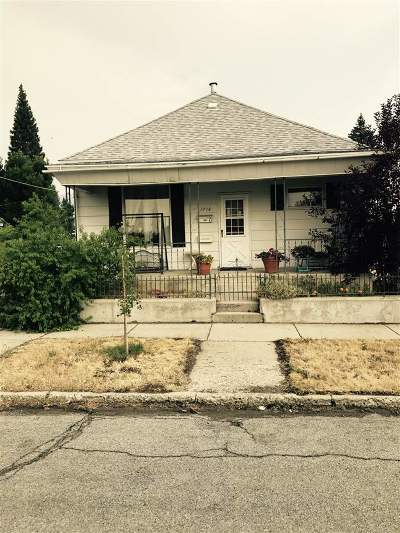 Butte MT Single Family Home Under Contract-Take Bkups: $93,900