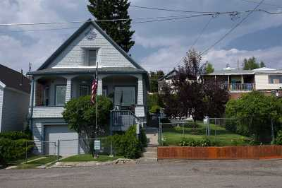 Butte MT Single Family Home Under Contract-Take Bkups: $105,000