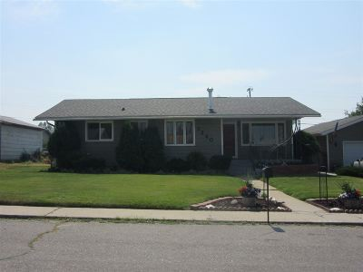 Butte MT Single Family Home Ucc Sale Of Buyer Propert: $185,000