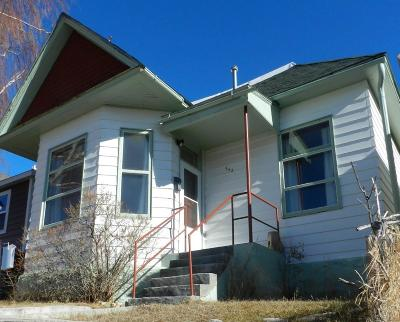 Butte Single Family Home For Sale: 542 N Franklin