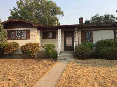Butte Single Family Home UNDER CONTRACT-TAKE BKUPS: 3435 N Hillcrest