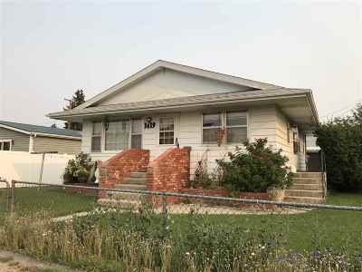 Butte MT Single Family Home Ucc Sale Of Buyer Propert: $135,000