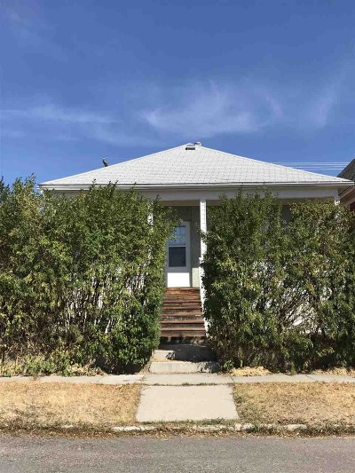 Butte MT Single Family Home Under Contract-Take Bkups: $72,000