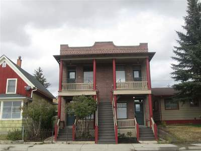 Butte MT Multi Family Home For Sale: $499,750