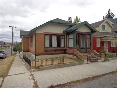 Butte Single Family Home For Sale: 800 W Silver St