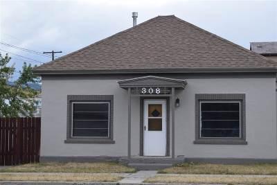 Anaconda Single Family Home For Sale: 308 Locust Street