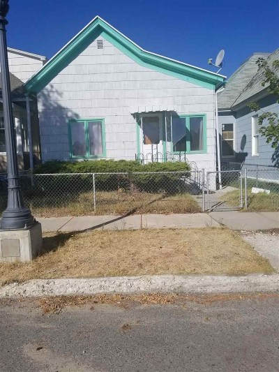 Anaconda MT Single Family Home For Sale: $77,000