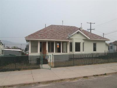 Anaconda Single Family Home For Sale: 410 E 8th Street
