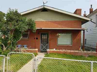 Butte MT Single Family Home Ucc Sale Of Buyer Propert: $85,000