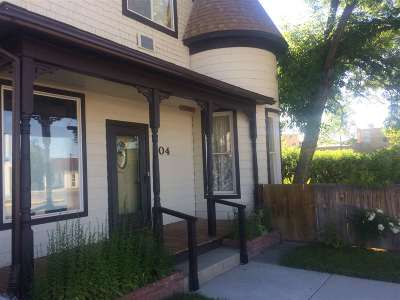 Single Family Home Under Contract-Take Bkups: 204 E Bannack