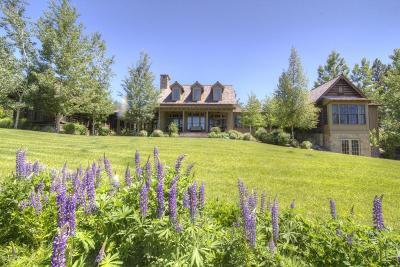 Hamilton Single Family Home For Sale: 1492 Stock Farm Rd