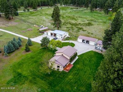 Hamilton Single Family Home For Sale: 399 N Gold Creek Loop