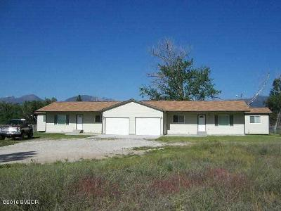 Victor Multi Family Home For Sale: 1917 Us Highway 93 N #A &
