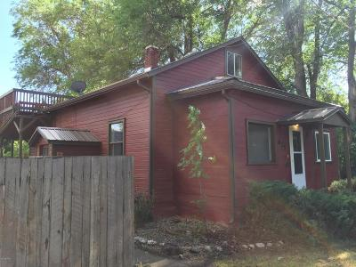 Hamilton MT Single Family Home Leased: $179,000