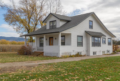 Hamilton MT Single Family Home Sold: $425,000