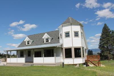 Hamilton Single Family Home For Sale: 278 Canyon Creek Rd