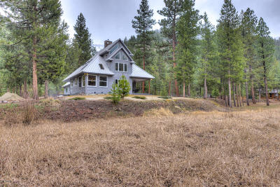 Darby Single Family Home For Sale: 114 Mountain Lion Trl