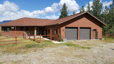 Ravalli County Single Family Home For Sale: 465 Harlan Creek Rd