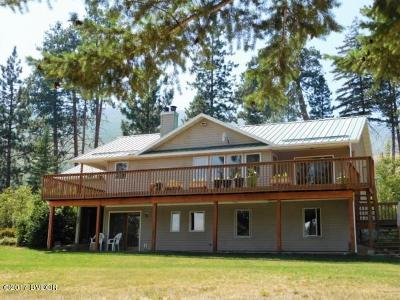 Ravalli County Single Family Home For Sale: 956 West Cow Creek Rd