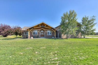 Ravalli County Single Family Home For Sale: 428 Whispering Willow Way
