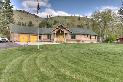 Ravalli County Single Family Home For Sale: 20 Shirleys Ct