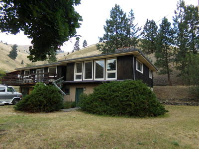 Missoula Single Family Home For Sale: 9830 Miller Crk Rd