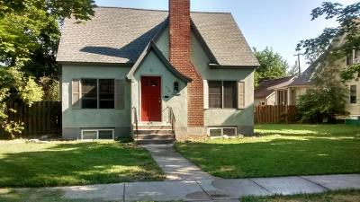 Missoula Single Family Home For Sale: 416 S 6th E St