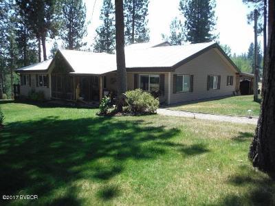 Ravalli County Single Family Home For Sale: 443 N Gold Creek Loop