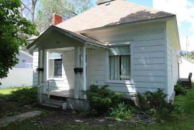 Ravalli County Single Family Home For Sale: 417 N 3rd St