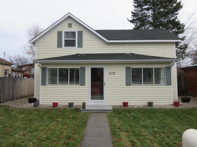 Hamilton Single Family Home For Sale: 408 N 5th St