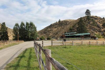 Hamilton Single Family Home For Sale: 1380 Skalkaho Hwy