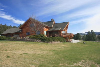 Ravalli County Single Family Home For Sale: 3312 Rome Ln