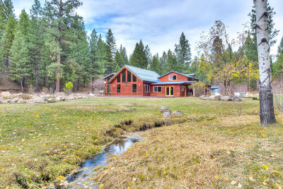 Ravalli County Single Family Home For Sale: 171 Beavertail Creek Rd