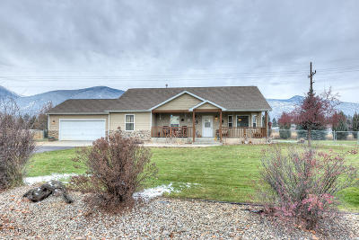 Ravalli County Single Family Home For Sale: 381 Stagecoach Trl