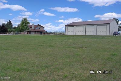Ravalli County Single Family Home For Sale: 2521 Bratton Way