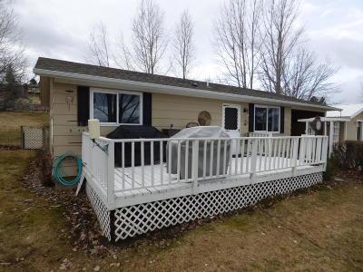 Hamilton Single Family Home For Sale: 808 Ponderosa Dr
