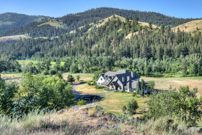 Hamilton Single Family Home For Sale: 1305 Skalkaho Hwy