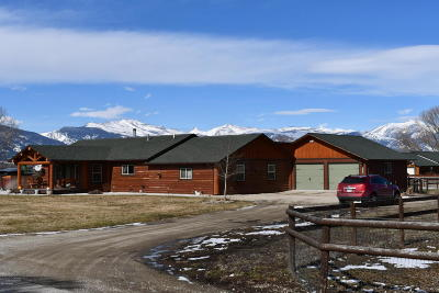 Ravalli County Single Family Home For Sale: 344 Harold Ln